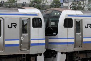 JR東日本・成田線などで運行されるE217系車両