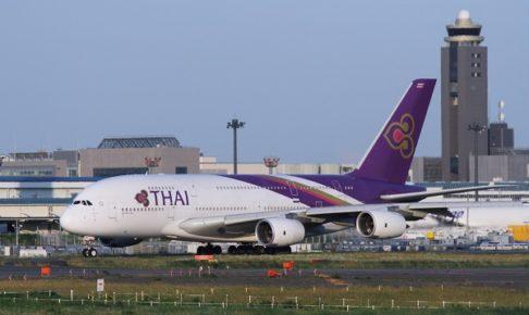 タイ国際航空機体(出典:Traicy)