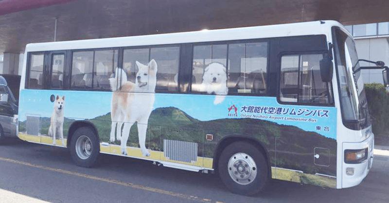 リムジンバス(大館能代空港公式Webサイトより)
