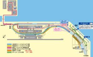 関西空港駐車場地図(出典:公式サイト)