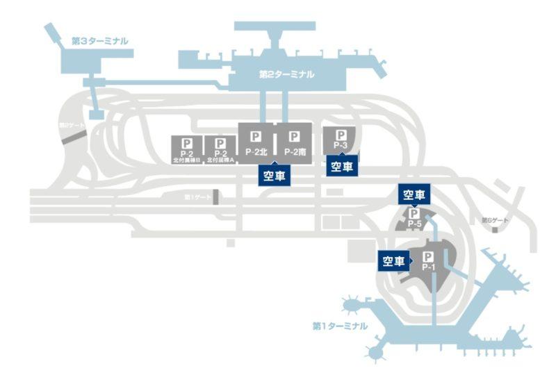 成田空港 駐車場