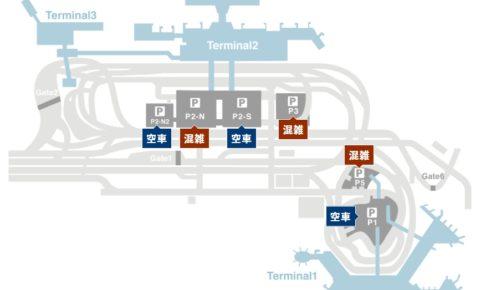 成田空港駐車場地図(出典:成田空港公式サイト)
