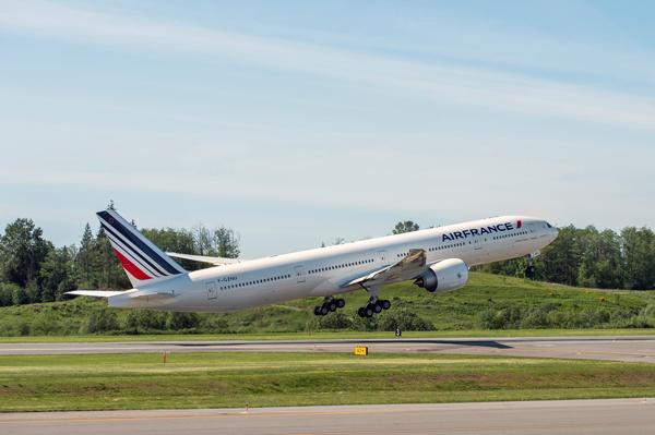 エールフランス機体(出典:Traicy)