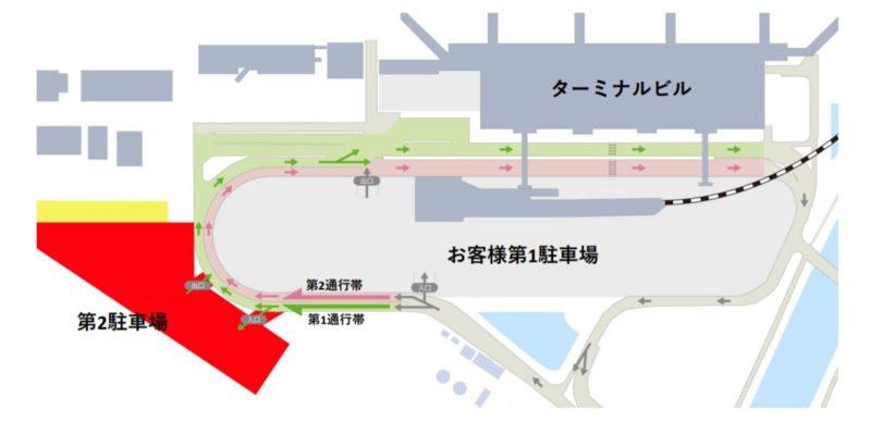 仙台空港 駐車場
