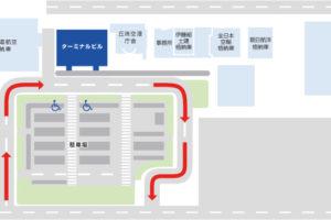 丘珠空港駐車場見取り図
