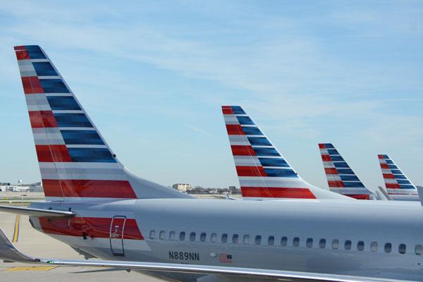 アメリカン航空機体(出典:TRAICY)