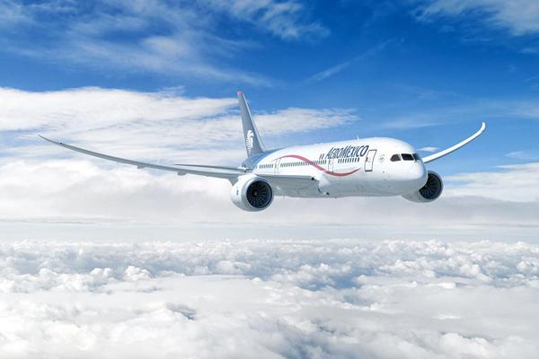 アエロメヒコ航空機体(出典:TRAICY)