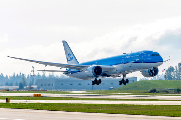 KLMオランダ航空機体(出典:TRAICY)