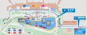 伊丹空港駐車場Map