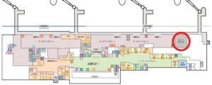 旭川空港「LOUNGE 大雪」地図