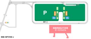 徳島空港駐車場Map