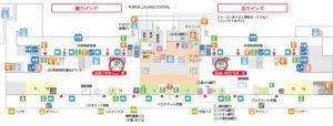 羽田空港第1旅客ターミナルレンタカーカウンター地図(出典:公式サイト)