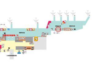 福岡空港 国内線ターミナル 喫煙所 北2階