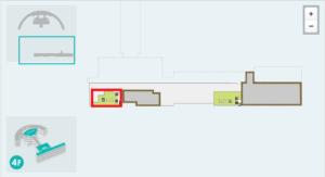 新千歳空港ノースラウンジ地図
